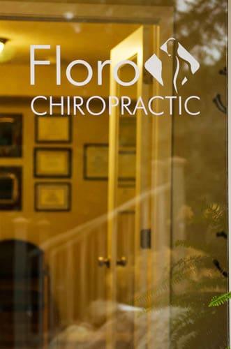 Chiropractic Eden Prairie MN Front Door Window Sign